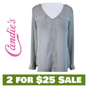 Long Sleeve Top - Size Small